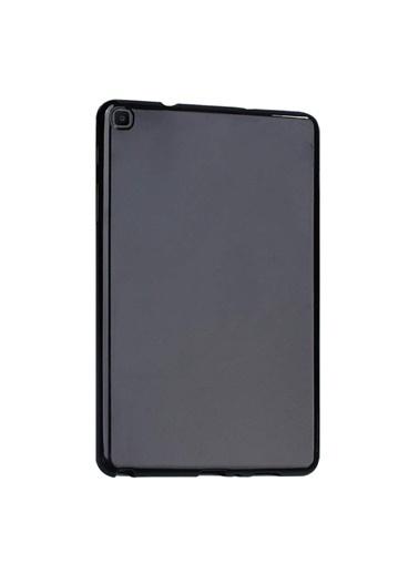 "Microsonic Samsung Galaxy Tab A 8"" 2019 T290 Kılıf Transparent Soft Siyah Siyah"